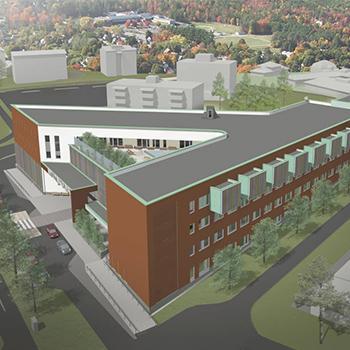 New Social and Health Care Centre in the city of Järvenpää