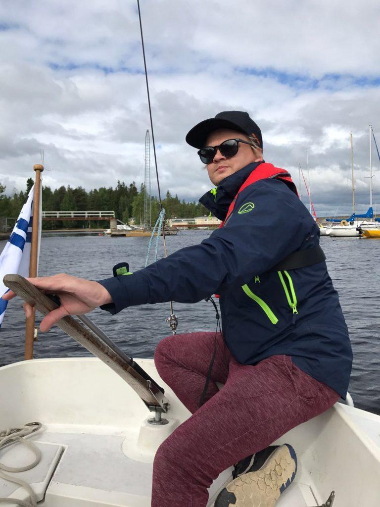 Tuomas purjeilla
