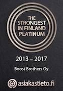 Boost Brothers Strongest in Finland 2013-2017