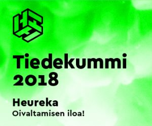 Tiedekummi 2018 Heureka logo